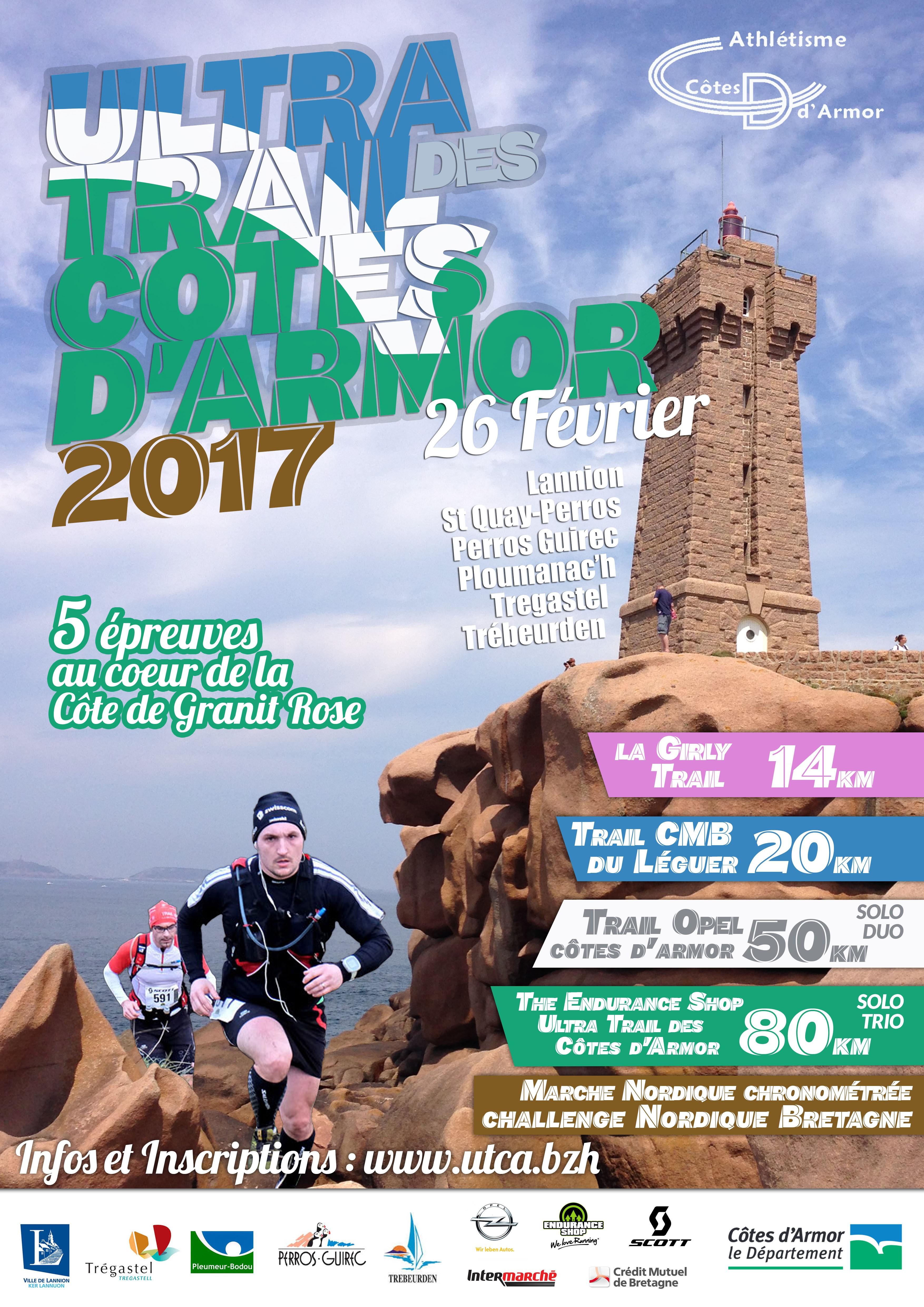 Ultra Trail des Côtes d'Armor 2017